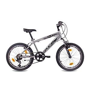"Leader 20"" VTT VÈLO Enfant Junior Fille Garcon Bicyclette Street ALU Chrome - 50,8 cm (20 Pouces) 6"