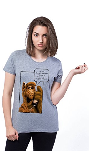 Alf Hello Animal Shelter Damen T-shirt