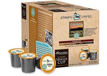 Caribou Blend Coffee Keurig K-Cups, 18 Count