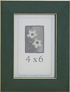product image for Frame USA Clean Cut Series 4x6 Wood Picture Frames (Green)