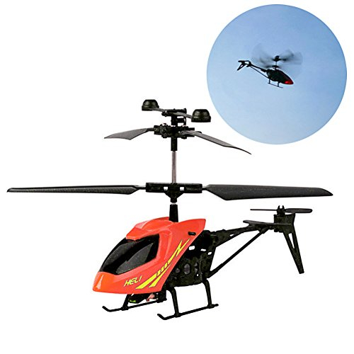 4 Channel Coaxial (EA-STONE 2 Channel Mini Indoor Outdoor Co-Axial RC Helicopter Aircraft With Gyro Red)