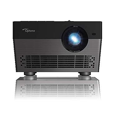 Optoma UHL55 Portable LED 4K UHD Smart Projector, Works Amazon Alexa & Google Assistant