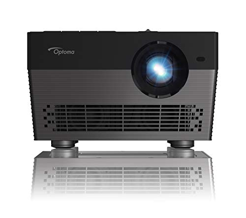 Optoma UHL55 Portable LED 4K UHD Smart Projector, Works with Amazon Alexa & Google Assistant