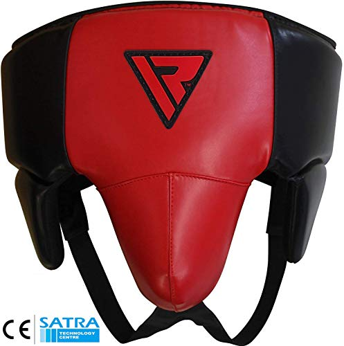 RDX Groin Guard for Boxing, MMA Training - Abdo Protection Gear for Men - Jock Strap for Kickboxing, Muay Thai & Martial Arts - Abdominal Protector for Taekwondo, BJJ, Karate, Sparring & Fighting
