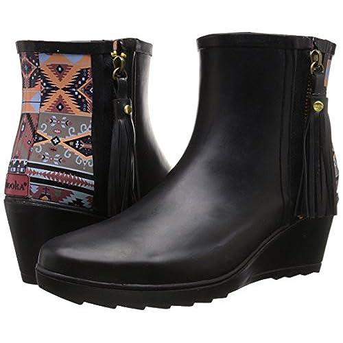 30%OFF Chooka Women&39s Side Zip Tribal Ankle Rain Boot - ville