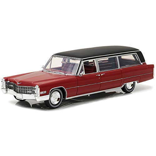 - GREENLIGHT LLC 1966 Cadillac S&S Limousine Die Cast - 1:18th Scale Limited Edition