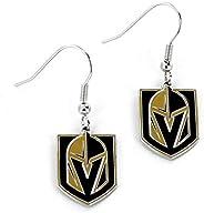NHL Vegas Golden Knights Logo Dangler Earrings