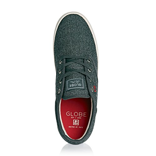 Erwachsene Sneakers Motley tweed Globe black Unisex red AqP1xwzx