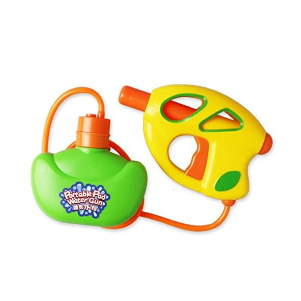 RISHIL WORLD CIKOO Portable Pod Water Gun Fun Toy Kids Quality Plastic Easy Carry Parent-Child Interaction Toys