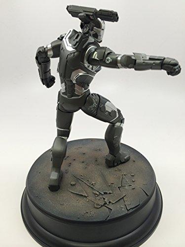 Dragon Models Iron Man 3 War Machine Action Hero Vignette Statue, 1:9 Scale