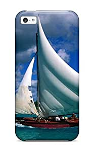 fenglinlinLennie P. Dallas's Shop Tpu Phone Case With Fashionable Look For ipod touch 5 - Fishing Sailboat Dominican Republic 4148461K79491436