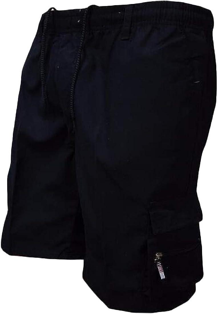 Joe Wenko Mens Wild Cotton Outdoors Athletic Elastic Waist Drawstring Shorts