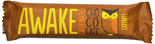 Awake Chocolate Caffeinated Caramel Bar, 1.55 Ounce, 12 Count