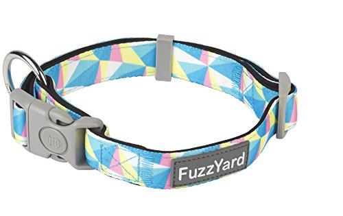 Fuzzyard Dog Collar & Leash (South Beach, Small Collar)
