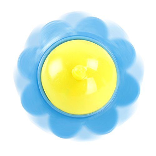 toys & games, novelty & gag toys,  novelty spinning tops  image, Super Z Outlet Mini Hand Finger Spinner Tops Twisting Plastic Flower Prize Toys for Children Birthday Party Favors (36 Pack) deals1