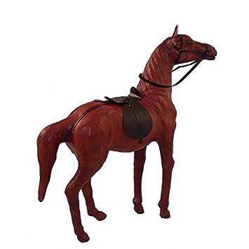 Cool statua cavallo legno arredo etnico casa intagliato e for Bissolo arredamenti