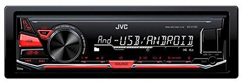 KD-X130 JVC Digital Media Receiver, USB, Nero/Antracite autoradio MP3