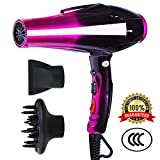 Hair Dryer 3500W Professional Ionic Blow Dryer with Concentrators...
