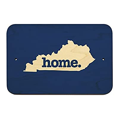 Graphics and More Kentucky KY Home State Solid Navy Blue Officially Licensed Home Business Office Sign