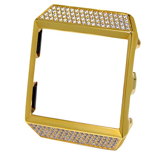 UKCOCO for Fitbit Ionic Case, Luxury Crystal Diamond Bling R
