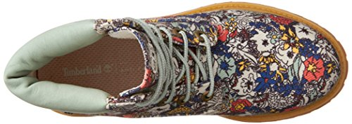 Boots FABRIC Women's Chukka Green ICON Floral Timberland wHTIFE