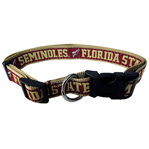 Florida State Seminoles Medium Dog Collar