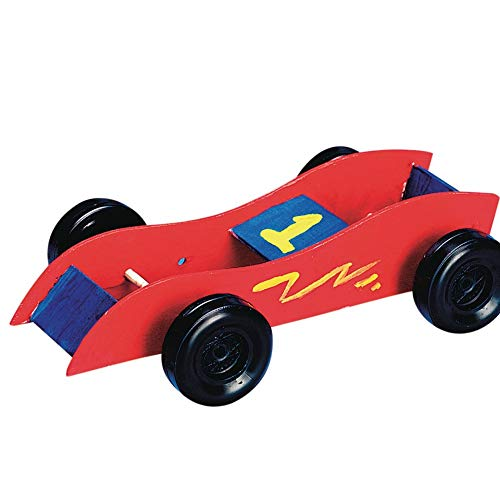(Rubber Band Race Cars Craft Kit)