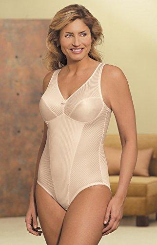 Glamorise Women's Isometric Bodysuit Briefer Shaper - 36C - (Full Figure Girdles)