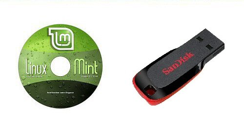 Linux Mint 18.2 - NEW RELEASE - Cinnamon Live Desktop 32-bit - On a Fast 8GB USB Flash Drive with DVD Included.