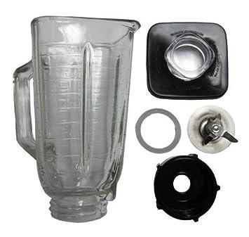6 piezas Jarra de vidrio Kit de reemplazo para Oster ...