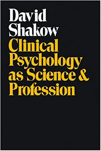 Clinical Psychology as Science and Profession