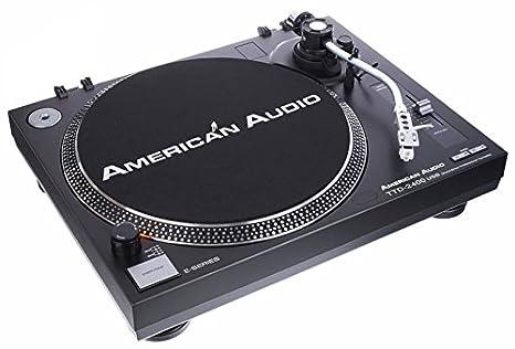 Tocadiscos American Audio Ttd 2400 USB: Amazon.es ...