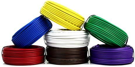 7 way remolque luz alambre arnés de cable para 50 pies Cada rollo ...