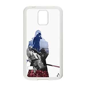 Samsung Galaxy S5 Phone Case White Assassin's Creed Syndicate ZEC893554