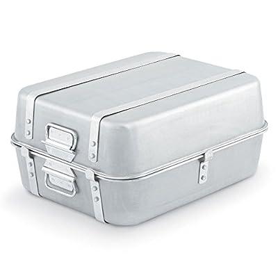 Wear-Ever Aluminum 23.25 Qt Double Roaster Set w/ Straps