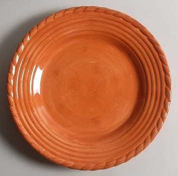 Artimino Tuscan Countryside-Terra Cotta Dinner Plate Fine China Dinnerware & Amazon.com | Artimino Tuscan Countryside-Terra Cotta Dinner Plate ...