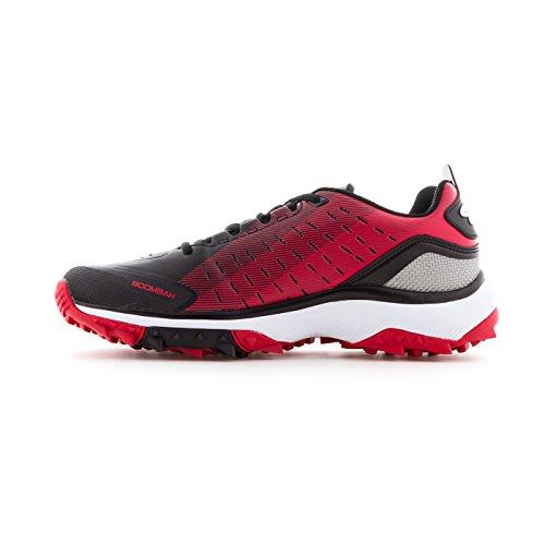 Scarpe Da Calcio Turf Per Uomo - 14 Opzioni Di Colore - Più Dimensioni Nero / Rosso