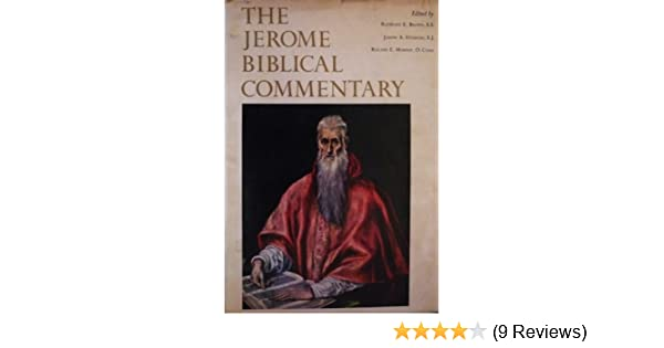 The Jerome Biblical Commentary Raymond E Brown Joseph A