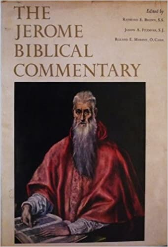 ST JEROME BIBLICAL COMMENTARY EBOOK