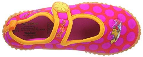 Playshoes Uv-schutz Badeschuhe Die Maus Punkte - Zapatillas Niñas Rosa - rosa