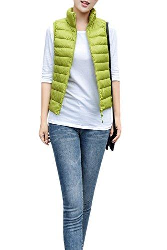 お願いします側憂鬱なYueLian レディース 春秋服 袖なし ジャケット シンプル カジュアル 登山 旅行