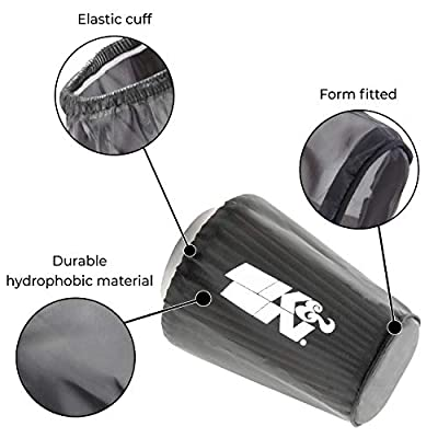 K&N Filter Wrap: Filter Sock Designed to keep your PL-1003 K&N Air Filter DRY for Polaris Sportsman K&N Filter Sock PL-1003PK: Automotive