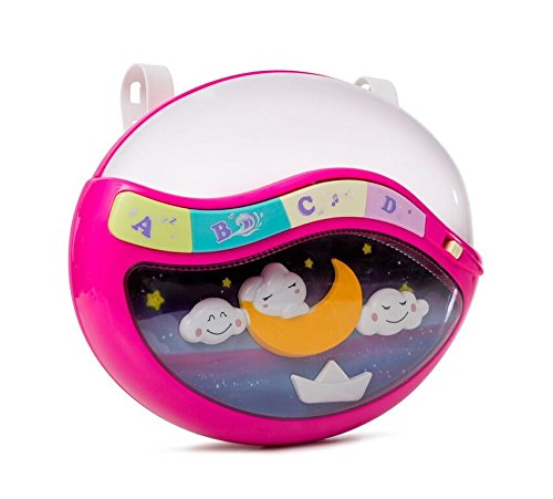 Play Baby Toys Magic Sleep Through The Night Soother Baby Crib Clip In Night Lamp With Multiple Melodies To Put Your Baby To Sleep, In Pink by Play Baby (Image #4)
