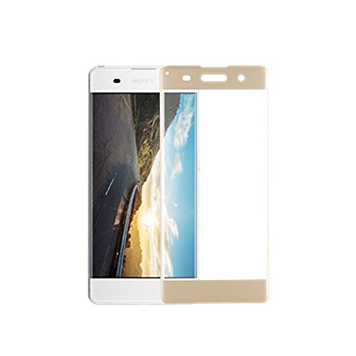 3D FULL Tempered Glass for Sony Xperia XA (Gold) - 4