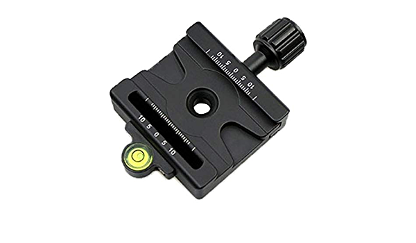 WUHFSHOPP Camera Accessories JA FMA-60 Dual-use Knob Quick Release Clamp Adapter Plate Mount for Arca Swiss//RRS//SUNWAYFOTO Quick Release Plate
