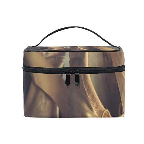 DEZIRO Old Ballet Shoes cute makeup bag brush bag Pouch (Louis Vuitton Ballet)