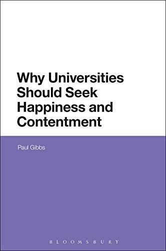 Why Universities Should Seek Happiness and Contentment