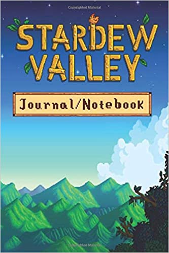 Stardew Valley Notebook: 120 Lined Pages 6x9