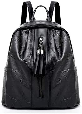 a289f10aa37 Women's Backpack Comfy Solid Color Chic Durable Back Bag: Amazon.com ...