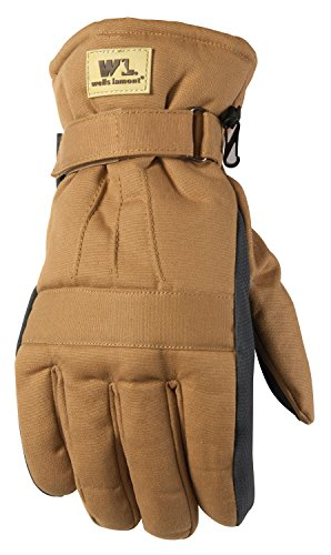 Men's Winter Gloves, Insulated with 100-gram Thinsulate, ...